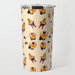 gritty patterns Travel Mug