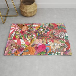 Of the Hare Meadow Rug