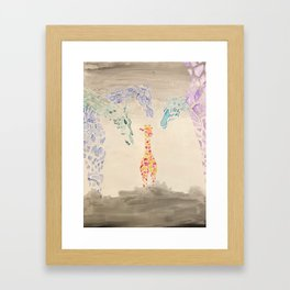 Young Framed Art Print