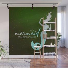 Mermaid #2 Wall Mural