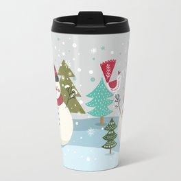 The Sweet Song Of Winter Travel Mug