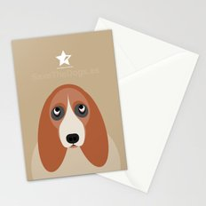 Basset Stationery Cards