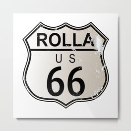 Rolla Route 66 Metal Print