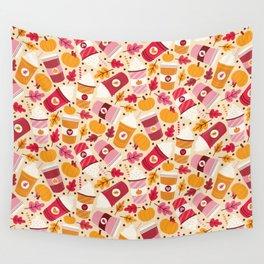 Pumpkin Spice Love Wall Tapestry