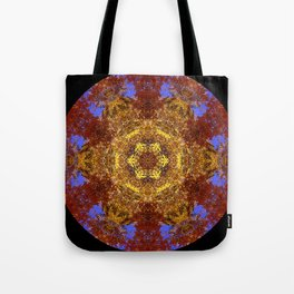 Autumn leaves and sky III Tote Bag