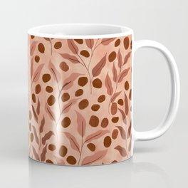 Leaves and Seeds | Earthy Palette Coffee Mug