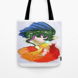 The Dragon And The Phoenix Tote Bag