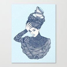 ♥ Early Winter,  Tea time (temporada oficial de tecitos ♥) Canvas Print