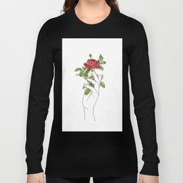 Flower in the Hand Long Sleeve T-shirt