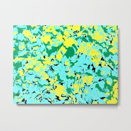 Flower Pop Art 2 Metal Print