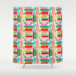 Amazing Super Awesome Books Shower Curtain