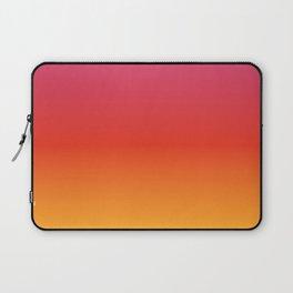 pink red orange yellow evening sky gradient Laptop Sleeve