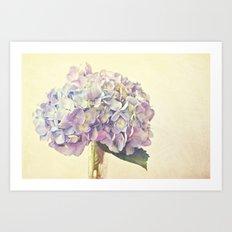 Violet Chic Art Print