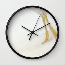 Gull Skiing Wall Clock