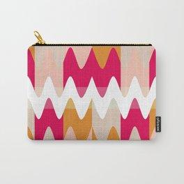 Pattern Vagues Colors Rose/Orange Carry-All Pouch