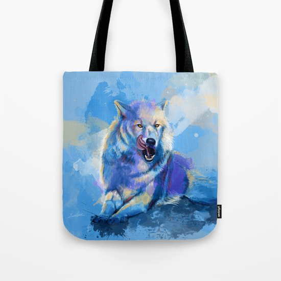 Awaken the Wolf Tote Bag