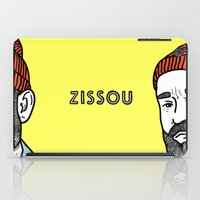 zissou iPad Cases featuring Zissou #2 by Daniel Feldt