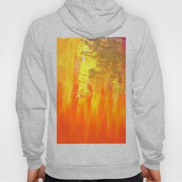 Aflood with gold and rose Hoody