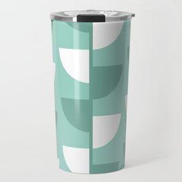 Pastel Green Slices in The Summer Shade Travel Mug