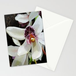 Pop Art Orchid Stationery Cards