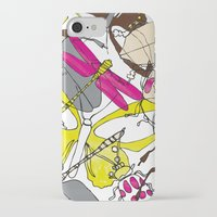 bugs iPhone & iPod Cases featuring bugs by Beatriz Lamanna