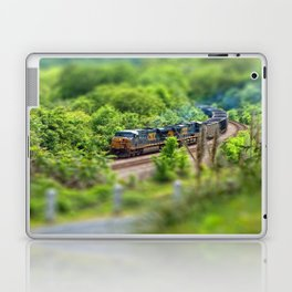 Rollin' Round the Bend Laptop & iPad Skin