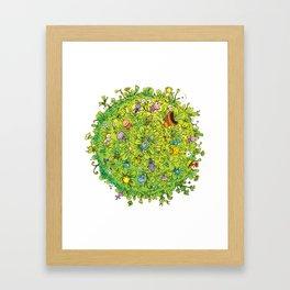 NATU NATU WORLD Framed Art Print