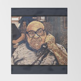 Danny Devito Reduction Print Throw Blanket