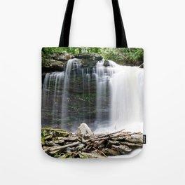 The Falls of Hills Creek Tote Bag