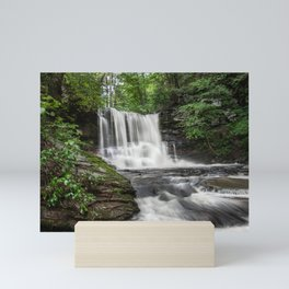 Appalachian Waterfall II - Ricketts Glen Adventure Mini Art Print