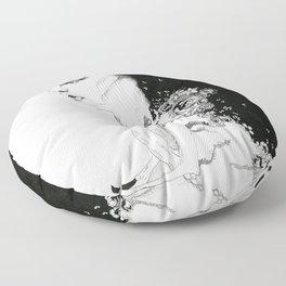 Deer Girl Floor Pillow