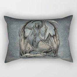 The Reaper's Ride Rectangular Pillow