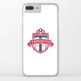 TORONTO FC Logo Clear iPhone Case