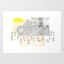 Greenwich Village Art Print