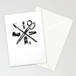 The Tools Stationery Cards