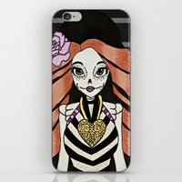 monster high iPhone & iPod Skins featuring Skelita - Monster High by Jeeny Trindade