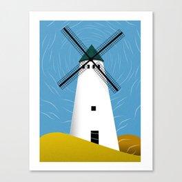 Windmill Scape Canvas Print