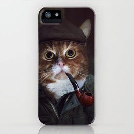 Holmes the Cat iPhone Case