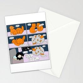 Midnight Brawl Stationery Cards