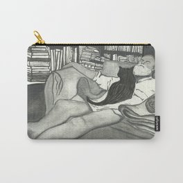 Edward Gorey Portrait Carry-All Pouch