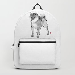 One Handsome Shiba Inu Backpack