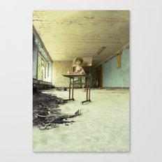 Chernobyl - лялька Canvas Print