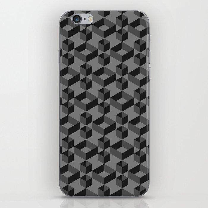 Black box iPhone Skin