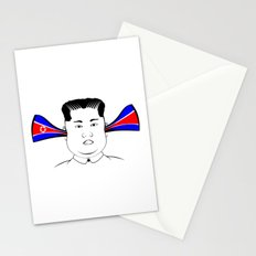 Kim Jong Un Stationery Cards