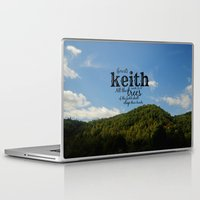 keith haring Laptop & iPad Skins featuring Keith by KimberosePhotography