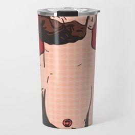 Chubby Pop Art Travel Mug