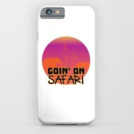 Safari in Africa and the Savannah iPhone Case