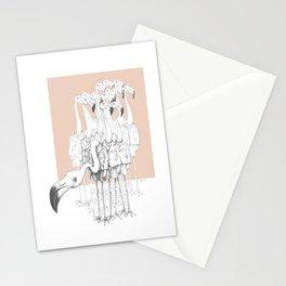 Weird & Wonderful: Flamingo Boys Stationery Cards