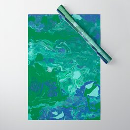 Paint Pouring 41 Wrapping Paper