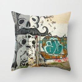 Corner Wall  Throw Pillow